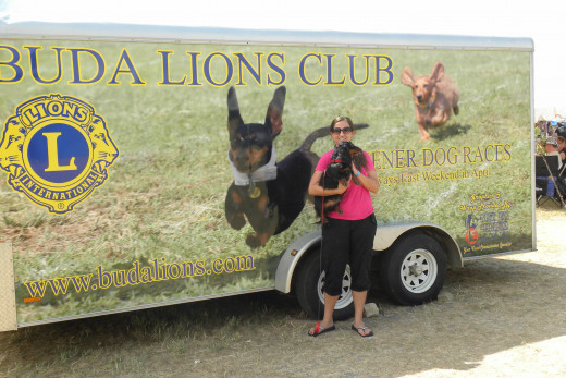 Buda Lions Club Wiener Dog Races Buda TX