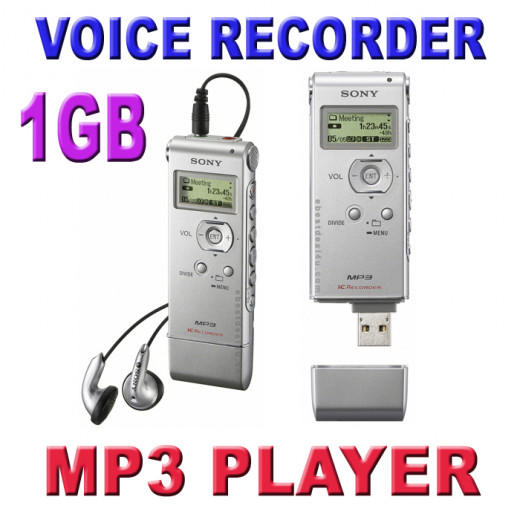 Sony ICDUX71S Digital Voice Recorder