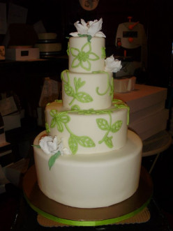 "Even your wedding cake can be ""green"""