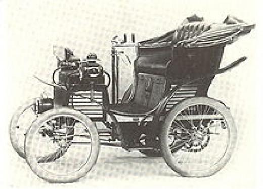 Fiat's 1st car. 3 1/2 CV