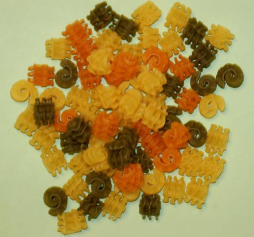 Radiatore Tricolore pasta.