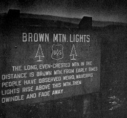 Brown Mountain Lights: Still in the Dark?