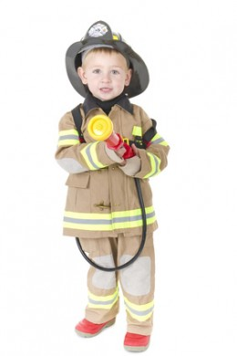 Dress up is fun for both toddler girls and boys.