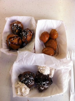Fried Cookie-dough, Fried Butter, and Fried Chocolate at Texas State Fair