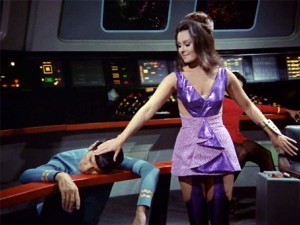 Alien Female Kara is played by Marj Dusay steals Spock's brain