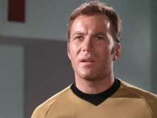 Kirk reacts to the news that Spock is missing his brain