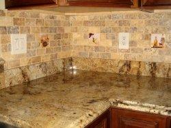 Backsplash ideas for granite countertops