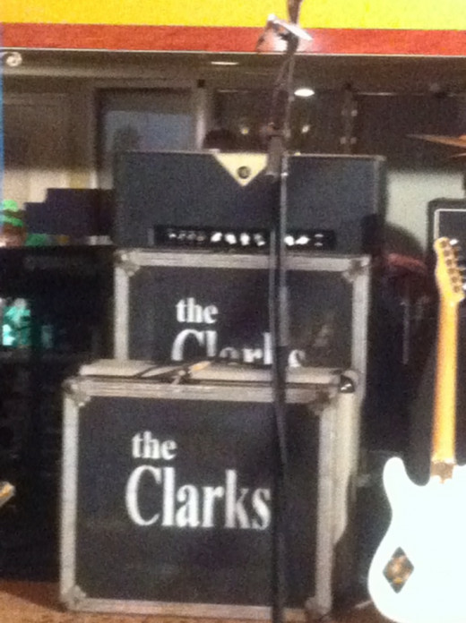 The official amps set up for the Clarks River Cruise