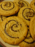 Peanut Butter Chocolate Pinwheel Cookies are Big, Beautiful, Ecomomical and Easy Recipe.