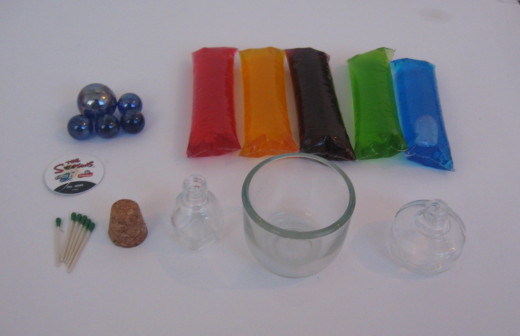 Items Needed to Make an Oil Lamp