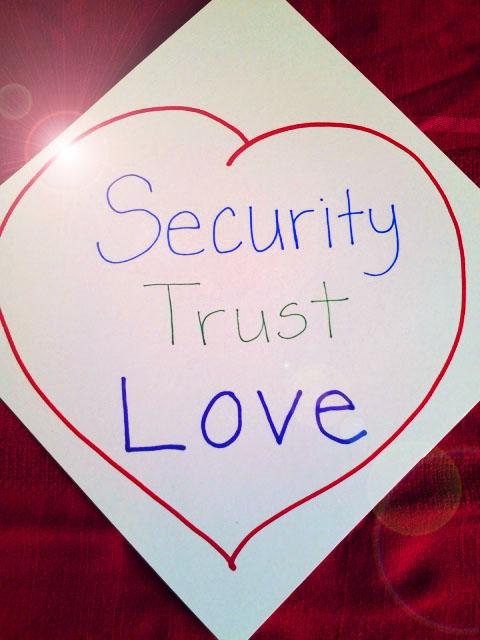 Security Trust Love