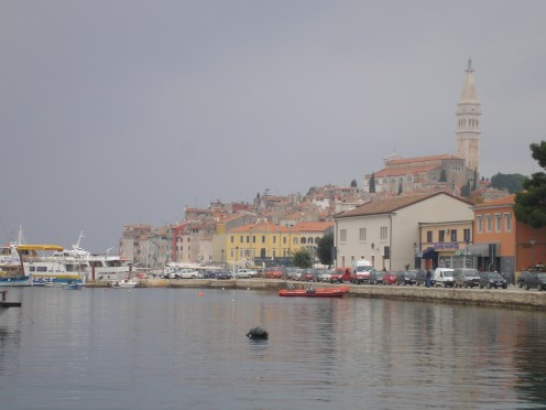 Rovinj in Croatia which we just happened to end up at. What a find it was!