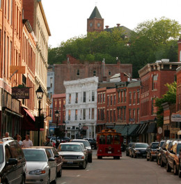 Historic Galena is a favorite long weekend retreat for Chicagoans.