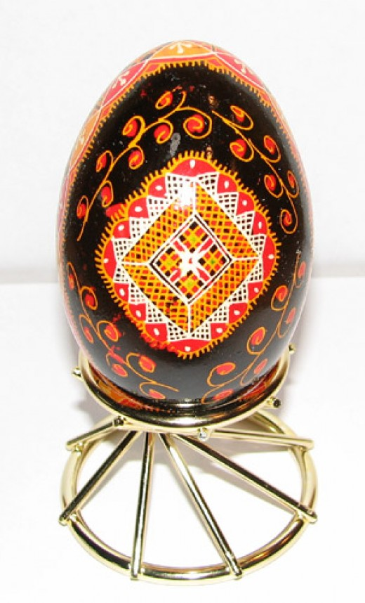 Blown Goose Egg Ornament