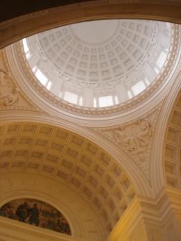 Interior of tomb.