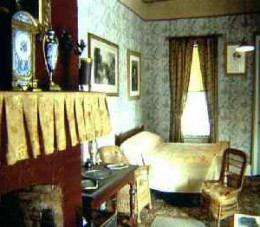 The interior is features the same furnishings from 1885, including Grant's death bed.