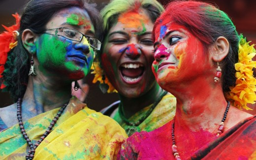 The real thrill of Holi celebration
