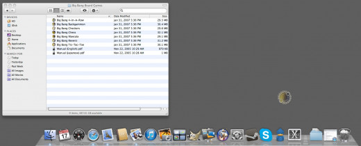 To remove an icon from the dock, left-click and hold on to the icon you wish to remove and drag it away from the dock.