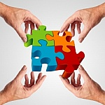 There are many pieces in the puzzle of life - and they should all fit together perfect harmony