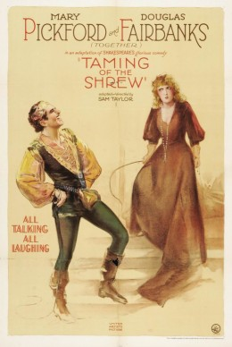The Taming of the Shrew (1929) poster