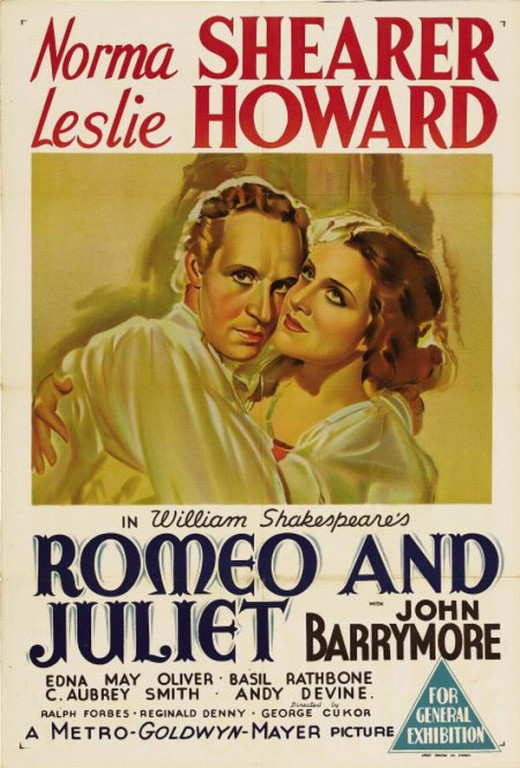 Romeo and Juliet (1936) poster