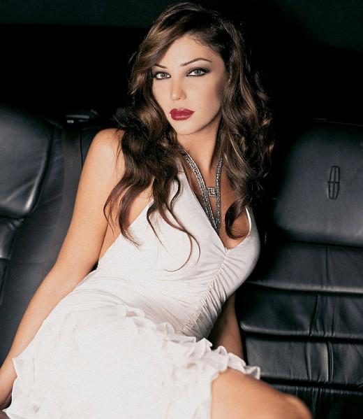 Lebanese Singer May Hariri