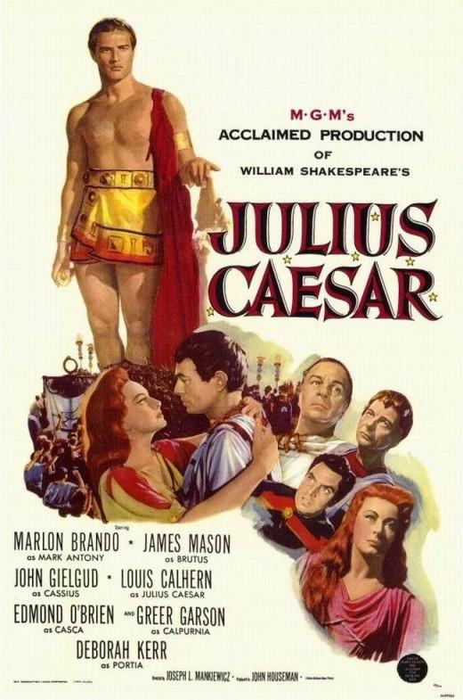 Julius Caesar (1953) poster