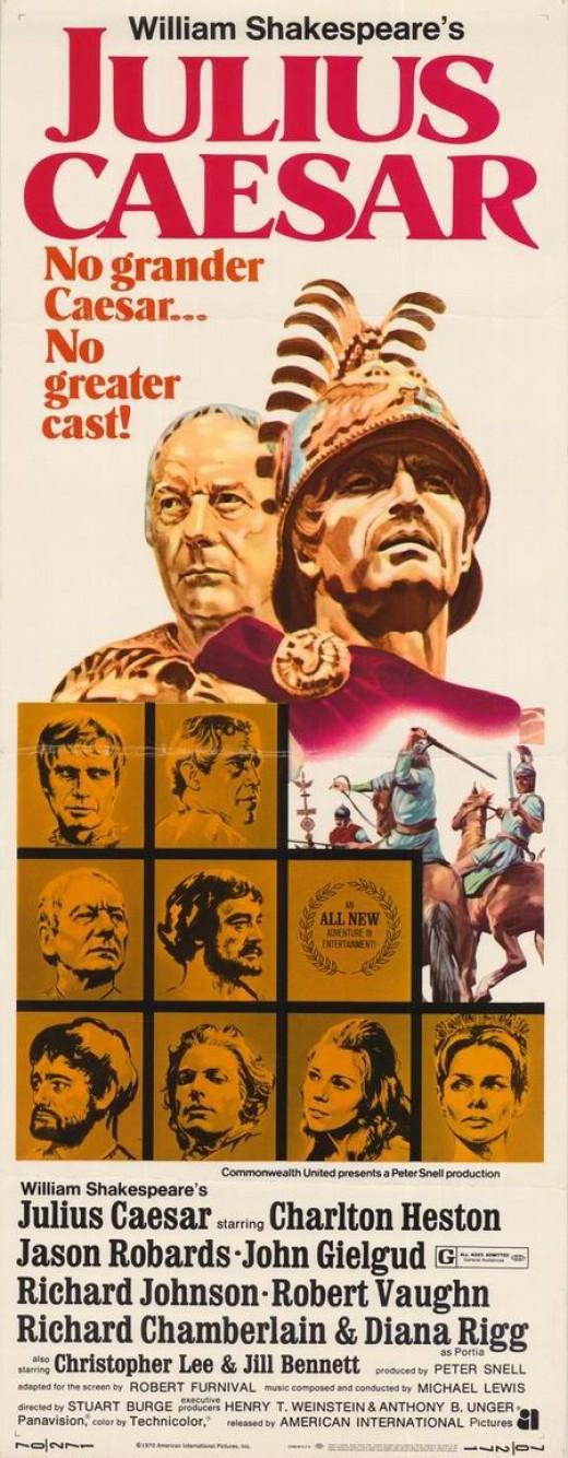 Julius Caesar (1970) poster