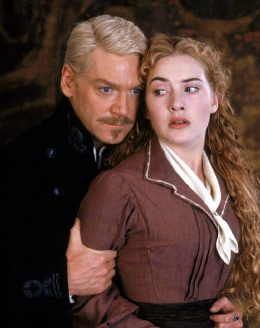 Kenneth Branagh and Kate Winslet in Hamlet (1996)
