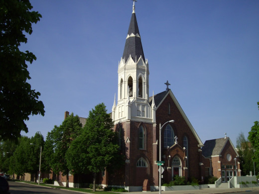 An Older Church in Downtown Bismarck