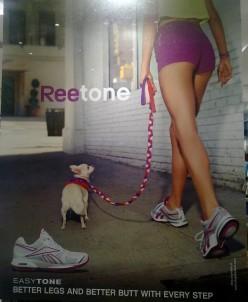 Reebok toning shoes