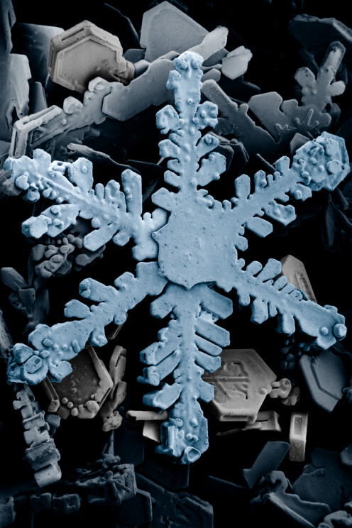 A Hexagonal Snowflake