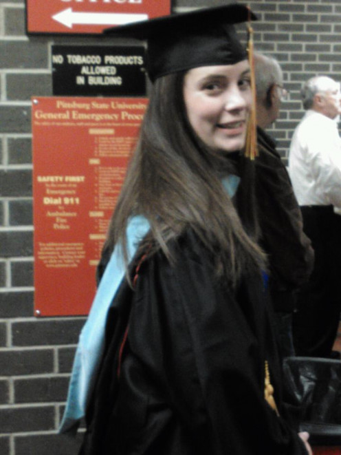 My daughter holds a Master's Degree as a Reading Specialist!  She is a successful child of a single mom.