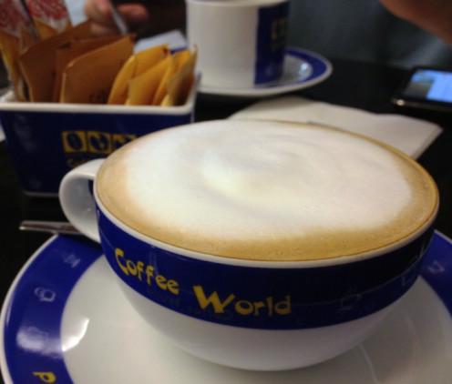 hot cafe mocha...