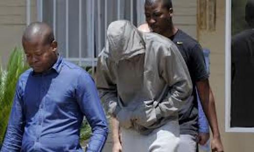 Oscar Pistorius is arrested