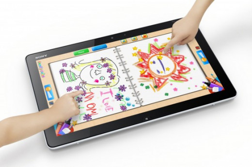 Sony's 20-inch tablet PC