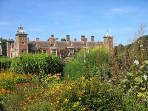 Blickling Hall from the garden