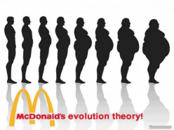 What about the federal student lunch program, can it really defy McDonald's evolution theory?