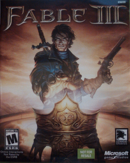 A video game's rating category is found on the front of the game box.
