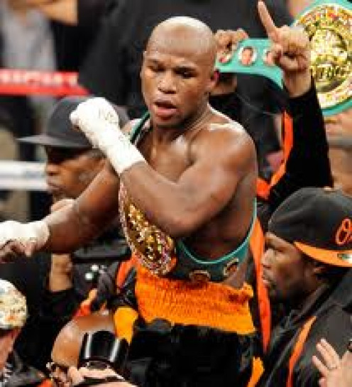"Floyd "" Money"" Mayweather has never lost a professional bout and is a defensive wizard."