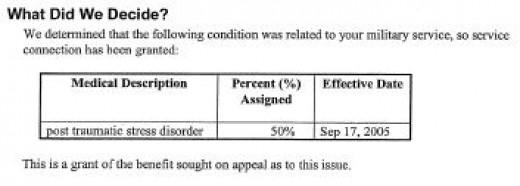 July 2008 PTSD Approval