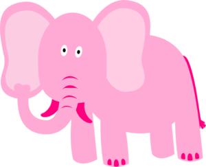 Now try not to think of a pink elephant.