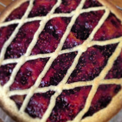 Linzertorte....a delicious easy crowd pleaser of a cake (one of the oldest known cakes in the world)