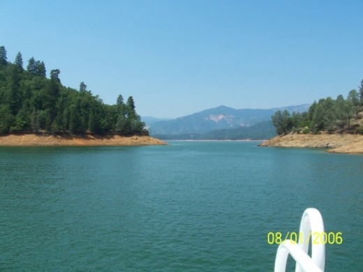 Lake Shasta has unparalleled recreational opportunities and promotes itself as the houseboat capital of the world.
