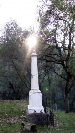 Strange Lights at Coloma Pioneer Cemetery  (Investigation-sorta)