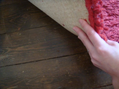 Varnish up Wooden Floor Boards as a Feature
