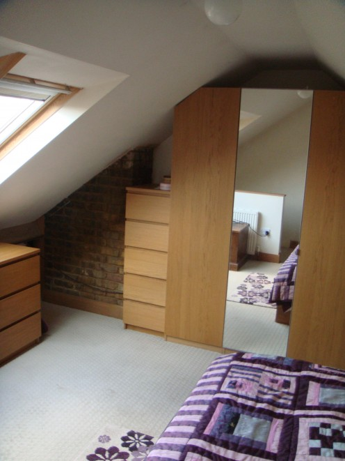 Go up and Make an Attic Room