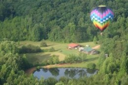 See the North Georgia Mountains from a balloon!