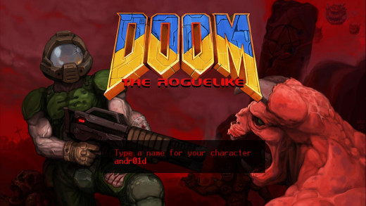 "You can name your character something other than ""Doomguy"" or ""our hero""."