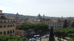 Rome is picturesque from any angle.